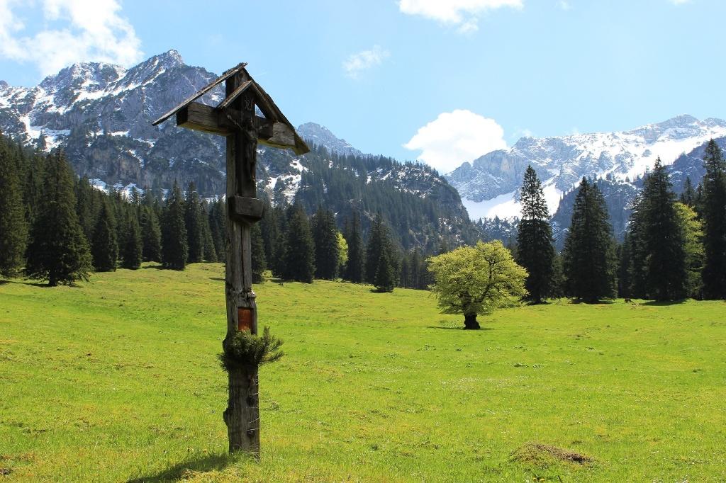 Auf dem Weg zur Vilser Alm - @ Autor: Julian Knacker - © Quelle: Pfronten Tourismus