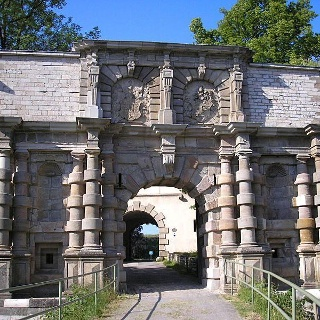 Prunktor der Festung Wülzburg