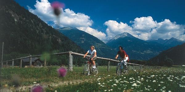 Am Glocknerradweg bei Obervellach