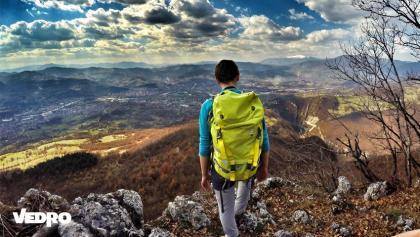 Pogled na Zenicu sa Klopačkih Stijena, Zenički Horizonti 2016