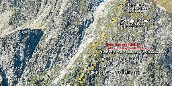 Heini Holzer Klettersteig am Kleinen Ifinger