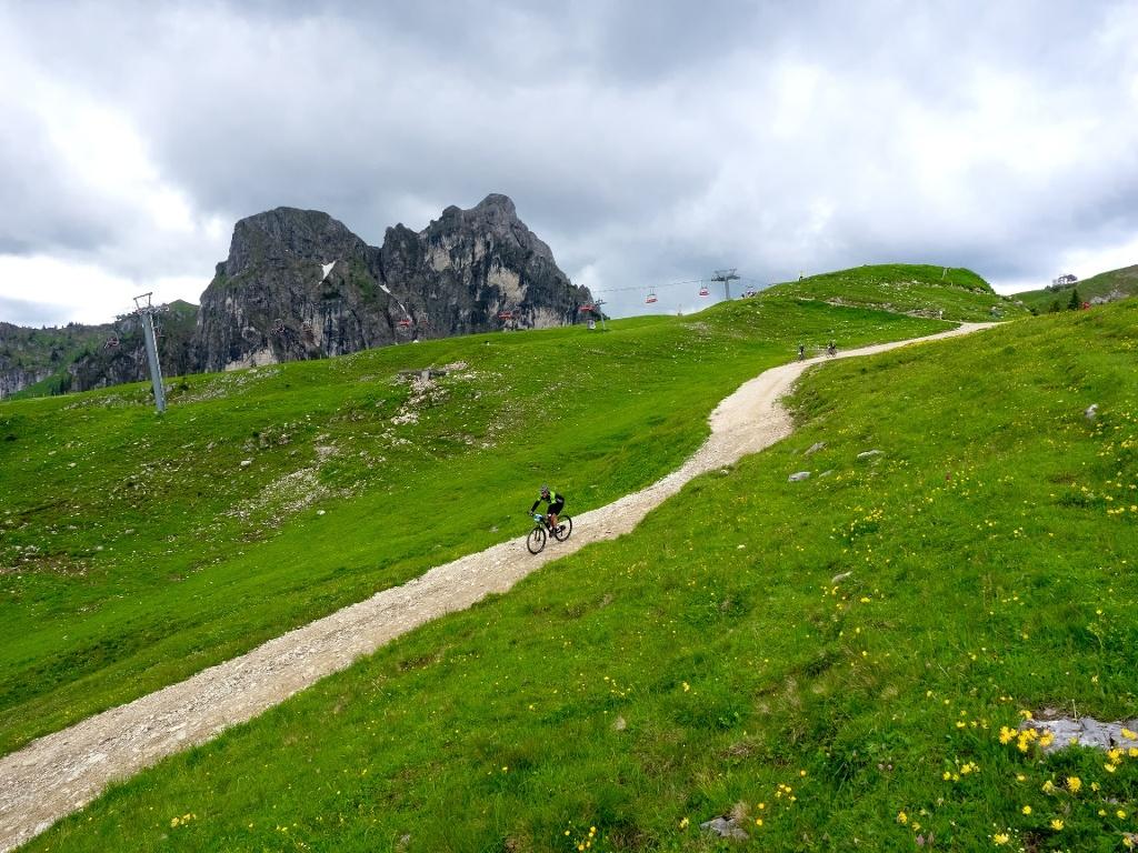 Mountainbiker beim Pfrontener MTB-Marathon  - @ Autor: Julian Knacker  - © Quelle: lukafo.de