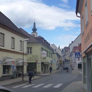 Wolfsberg/Blick Richtung Hoher Platz