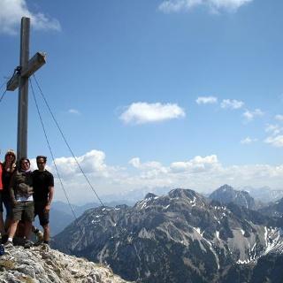Brentenjoch Gipfel