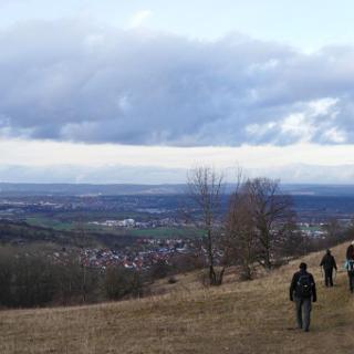 Blick auf Filder und Neckartal