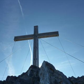 Gipfelkreuz der Serles