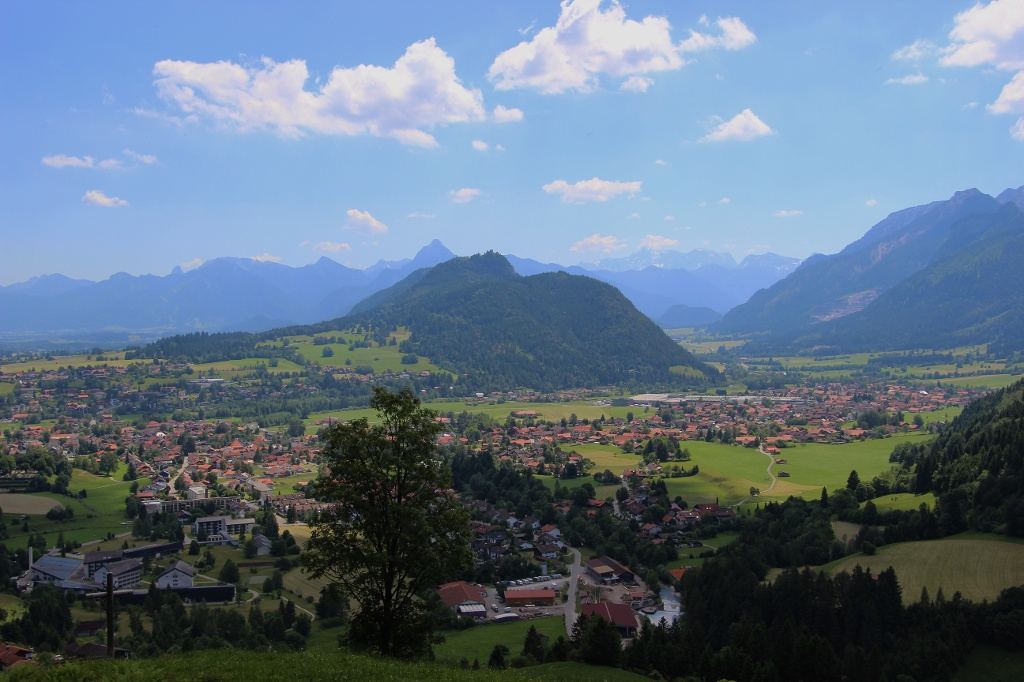 Blick auf das Pfrontener Tal vom Edelsberg - @ Autor: Julian Knacker - © Quelle: Pfronten Tourismus