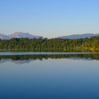 Der Abtsdorfer See im Rupertiwinkel