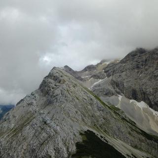 Schlauchkar und Birkkarspitze am 4.07.2017