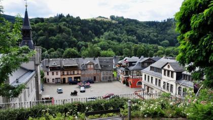 Marktplatz in Leutenberg