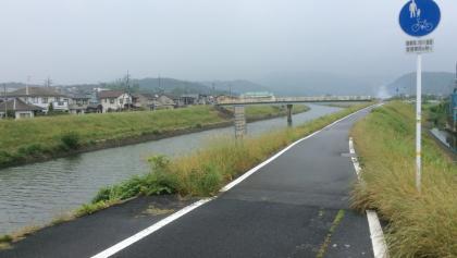 Verlauf am Fukurogawa-Fluss