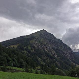 Blick von Zwischbergen zum Seehorn