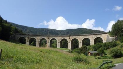 der Adlitzgrabenviadukt der Semmeringbahn