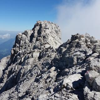 Grat zwischen Mittelspitze und Südspitze