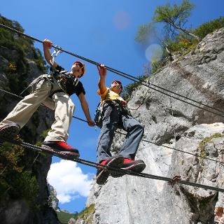 Klettersteig Hias