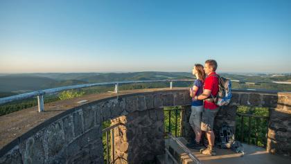 Traumhafte Aussichten vom Kaiser-Wilhelm Turm