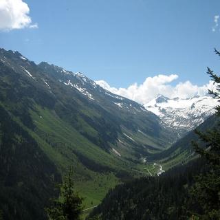Blick zum Talschluß des Obersulzbachtal mit dem Gr. Geiger