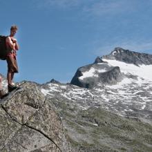 Hochalmspitze Gipfelblick