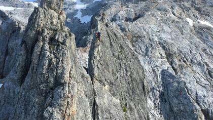 Klettersteig Königsjodler : Königsjodler klettersteig bergsteigen
