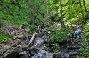 Wanderung durch die Höllschlucht zur Kappeler Alp - @ Autor: Julian Knacker - © Quelle: Pfronten Tourismus