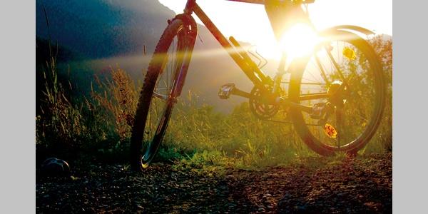 Sonnenuntergang am Silbersberg