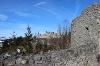 Burgruine Hohenfreyberg von der Ruine Eisenberg gesehen. - @ Autor: Julian Knacker - © Quelle: Pfronten Tourismus