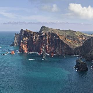 Der westliche Teil des Ponta de São Lourenço an der Ostspitze von Madeira