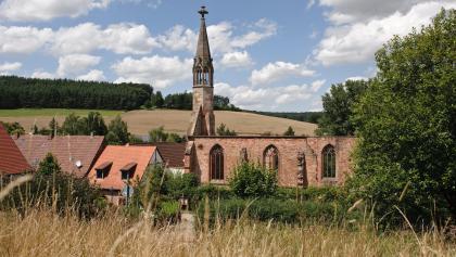 Blick auf das Kloster in Rosenthal