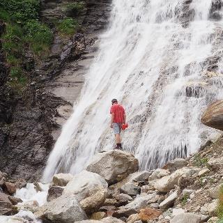 Wasserfall Lacheggklamm