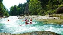 Kajaktour - Wildwassertour durch die Ammerschlucht