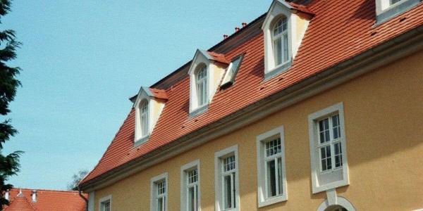 Das Schloss Friedrichsthal.