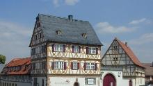 Fränkischer Rotwein Wanderweg - 1. Etappe von Großwallstadt nach Großostheim