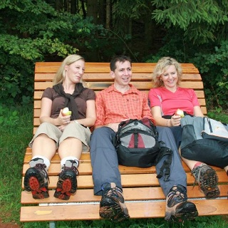 Entspannung auf dem Kaltensteinpfad