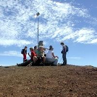 Auf dem Pico Birigoyo.