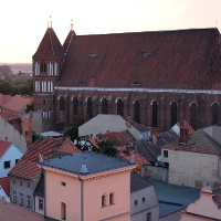Kirchplatz in Luckau