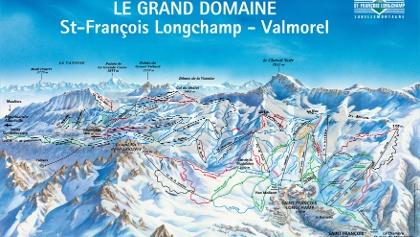 Pistenpanorama  St. François-Longchamp