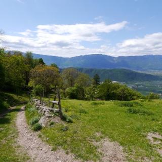 Der Weg zurück nach Leifers