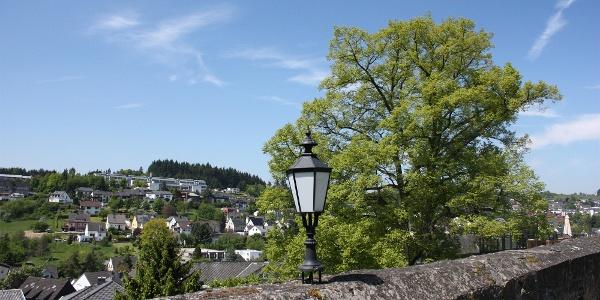 Ausblick Burg