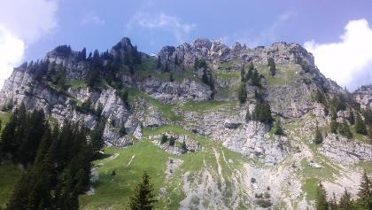 Südwand Wendelstein Massiv