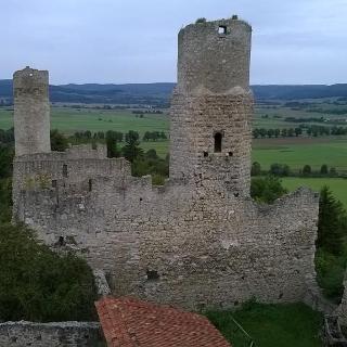Blick vom Wohnturm