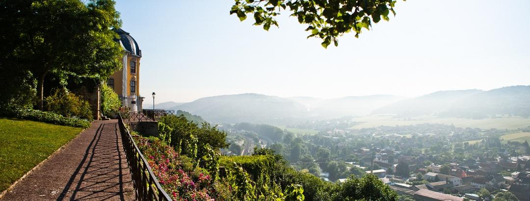 Tourismusregion Saaleland - Blick von den Dornburger Schlössern
