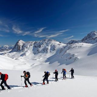 Skitouren am Dachstein Gletscher
