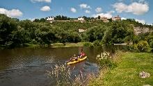 Saale - Wasserwandern von Jena bis Camburg - Etappe 9