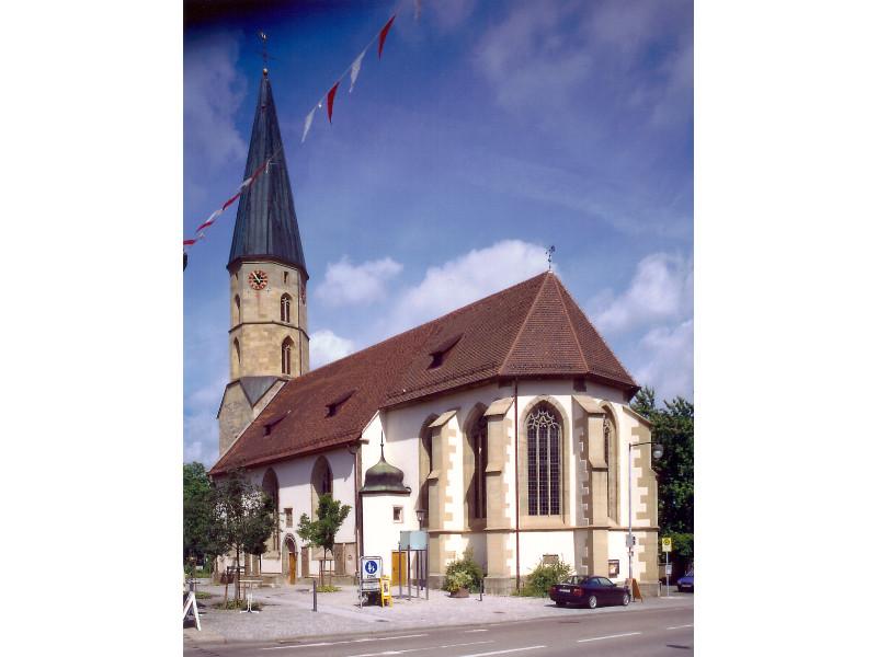 Ev. Stadtkirche Gaildorf   - © Quelle: Stadt Gaildorf