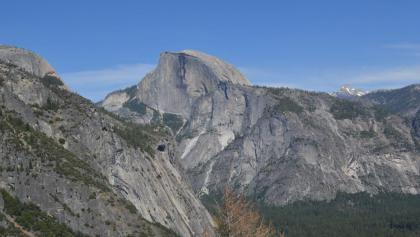 View onto Half Dome from Columbia Rock