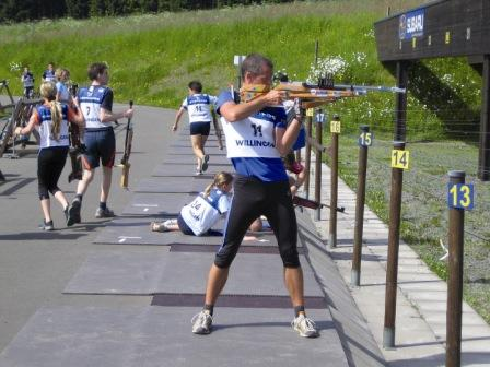 Biathlon-Schießstand