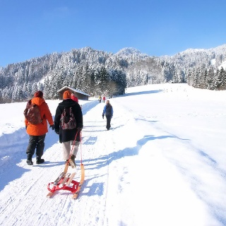 Winterwandern in Lenggries