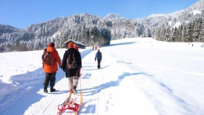 Winterwandern in Lenggries