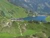 Blick zur Landsberger Hütte und Traualpsee  - @ Autor: TVB Tannheimer Tal  - © Quelle: Tourismusverband Tannheimer Tal
