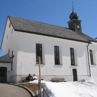 Kirche St.Martin in Baad.